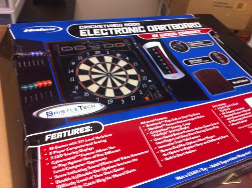 Halex Cricketview 5000 Dartboard W Electric Score System