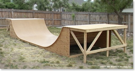 How To Build A Half Pipe Blueprints Amp Dvd Video Halfpipe
