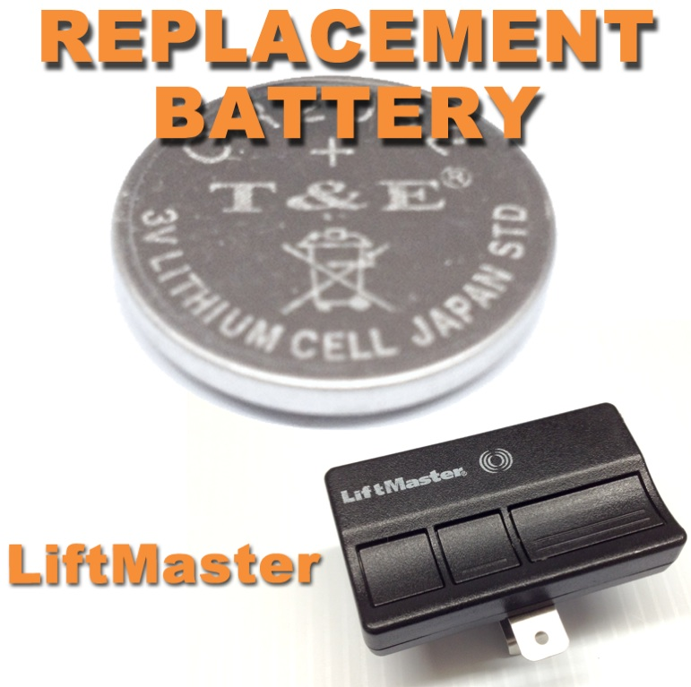 new liftmaster garage door opener remote control battery